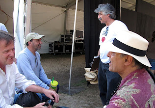 Photo: Tom, Bob Green, Ambrose Verdibello, Gene Lowinger- Photo by Fred Robbins