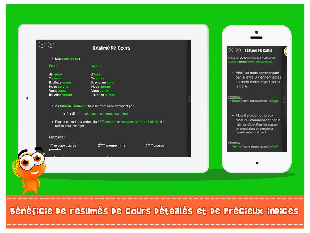 Itooch fran ais ce2 android apps on google play - Open office android francais ...