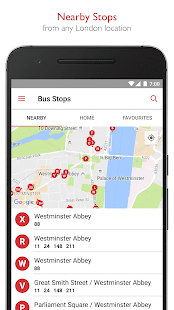 Bus Times London - TfL Travel- screenshot thumbnail
