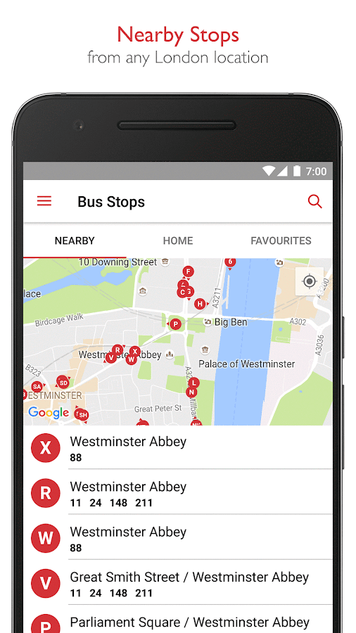 Bus Times London - TfL Travel- screenshot