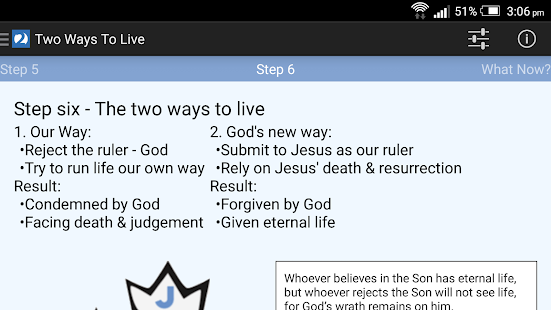 Two Ways To Live- screenshot thumbnail