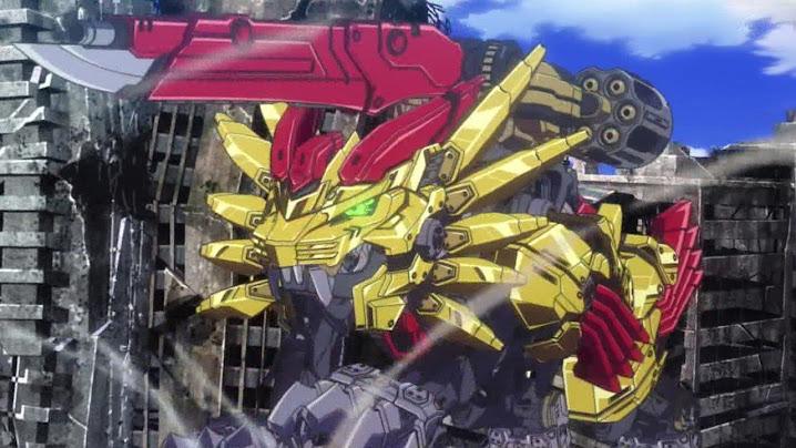 ゾイドワイルドZERO14話「超進化!ライジングライガー!」アニメ動画