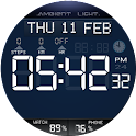 Ambient Light Watch Face Free icon