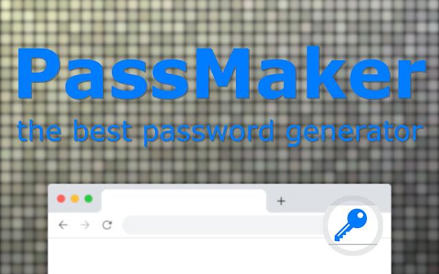 PassMaker - is the best password generator.