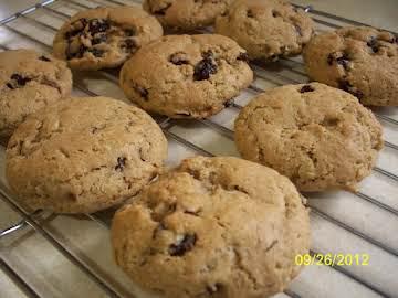 Spiced Raisin Oatmeal Cookies