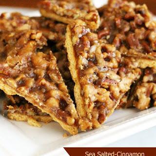 Sea Salted Cinnamon Graham Cracker Pralines.