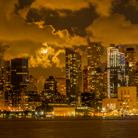 NY City Skyline by Werner Ennesser - Buildings & Architecture Architectural Detail ( ny city skyline,  )