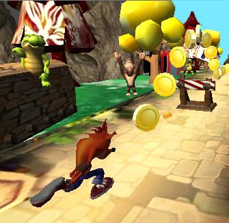 Subway Crash Run : Nsane Jungle Trilogy 1.1 screenshots 1
