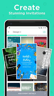 Hobnob invitations invitation maker text rsvp apps on google play screenshot image stopboris Images