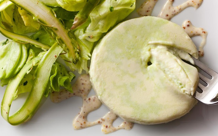 Pea Custard Salad Recept | Yummly