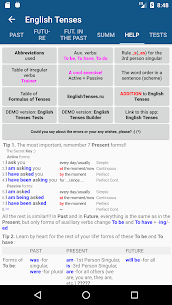 English Tenses v4.0 build 471 [Patched][Mod] 2