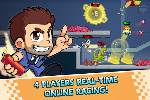 Booster Raiders - Fun Run Games screenshots 1