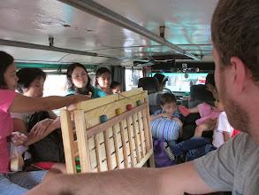 Photo: Inside a jeepney