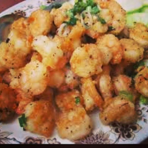 Salt And Pepper Shrimp, Iris Recipe