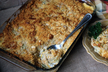 Cheesy Corn And Green Bean Casserole Recipe