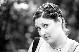 """Photo: """"Hi There Pretty Lady"""" (My wife Nicole!) See my wife's portrait work here:http://facebook.com/justsaytheword  #portraittuesday +PortraitTuesday by +Laura Balc #bokehtuesday +* by +Bob Baxley"""