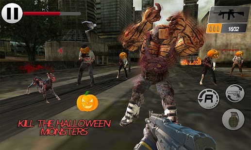 Dead Halloween Zombie Shooter Target - náhled