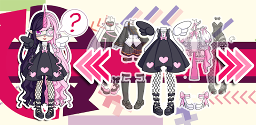 Create virtual Magical Monster Girl &give yourself the look U have always wanted