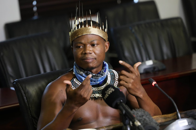 Ndebele activist Thando Mahlangu, who was at the centre of the cultural storm at Boulders Mall in Midrand. The writer says he somewhat agrees with the facility manager that there was some element of indecency in the way the man was dressed.