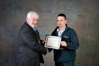 Photo: 1-Year Safety Award | Hanson Aggregates - Midwest Quarry, Steve Purdy