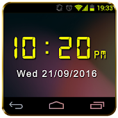Digital Clock Widget NightMode
