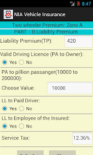 Vehicle Insurance Calculator App Download For Android 3