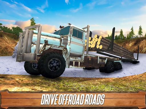 Sawmill Driver: Logging Truck & Forest Harvester  screenshots 8