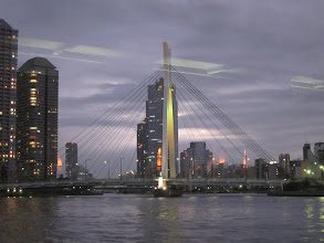 Photo: Chuo-ohasi Bridge (newest bridge over the Sumida river built 1994)