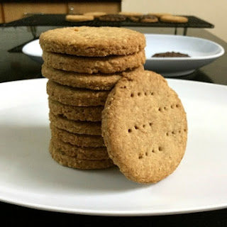 Homemade Digestive Biscuits.