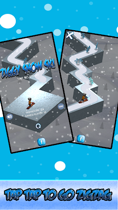 ZigZag Snow Ski screenshot