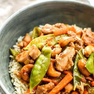 Easy Cashew Chicken Meal Prep.