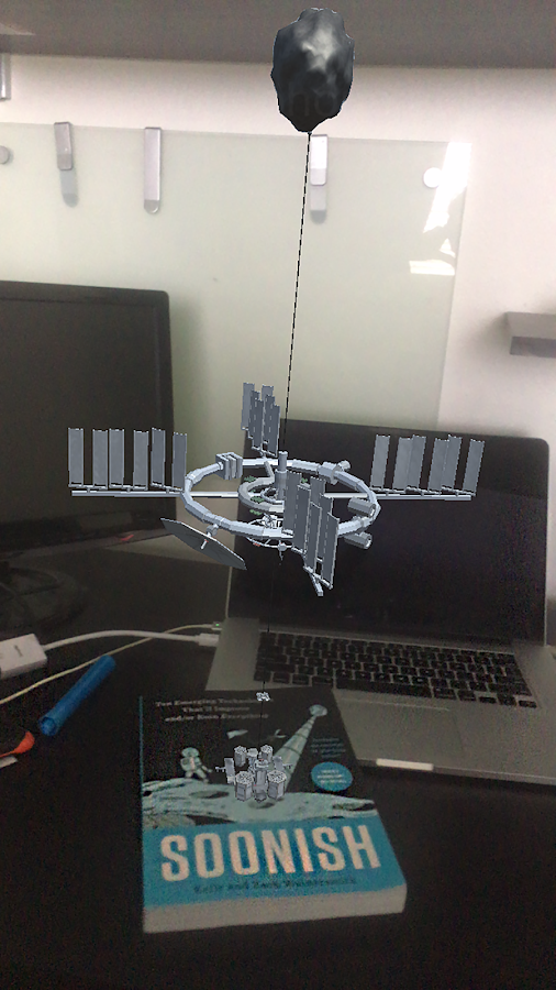 Soonish Augmented Reality App- screenshot