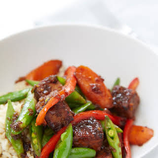 Stir-Fried Ginger Tempeh.