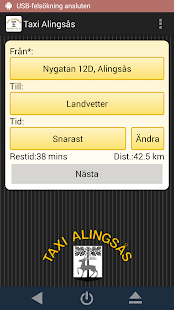 Taxi Alingsås- screenshot thumbnail