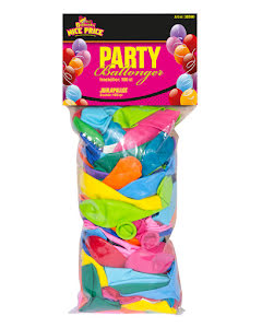 Ballonger, sorterade 100 st