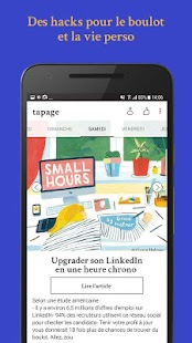 Tapage by My Little App – Vignette de la capture d'écran