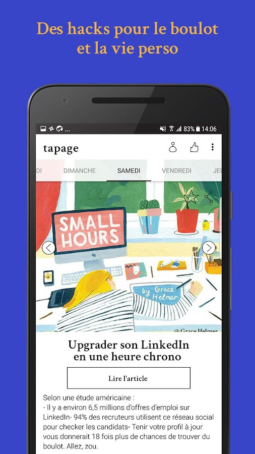 Tapage by My Little App – Capture d'écran