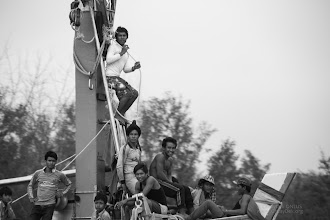 Photo: The children are observing a whole new set of things, getting a grasp on fishermen life style