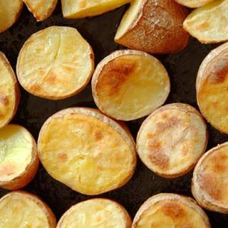 Baked Seasoned Potato Chips Recipe