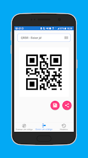 Download free QRBR | Gerador e Scanner de Códigos de Barras e QR for PC on Windows and Mac apk screenshot 4
