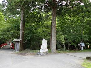 直進は武奈ヶ岳方面(右へ)