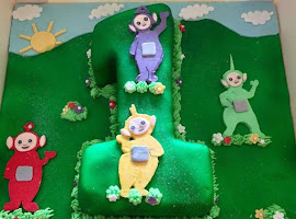 Number 1Tellie Tubbies cake