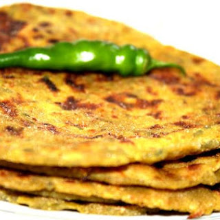 Methi ( Fenugreek Leaves) Thepla