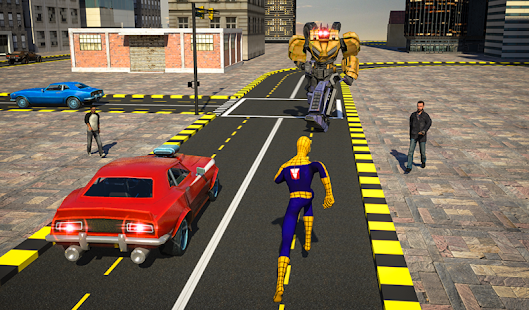 Superheroes Robot Battle- screenshot thumbnail