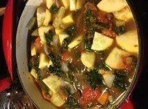 Kale And Black Bean Soup