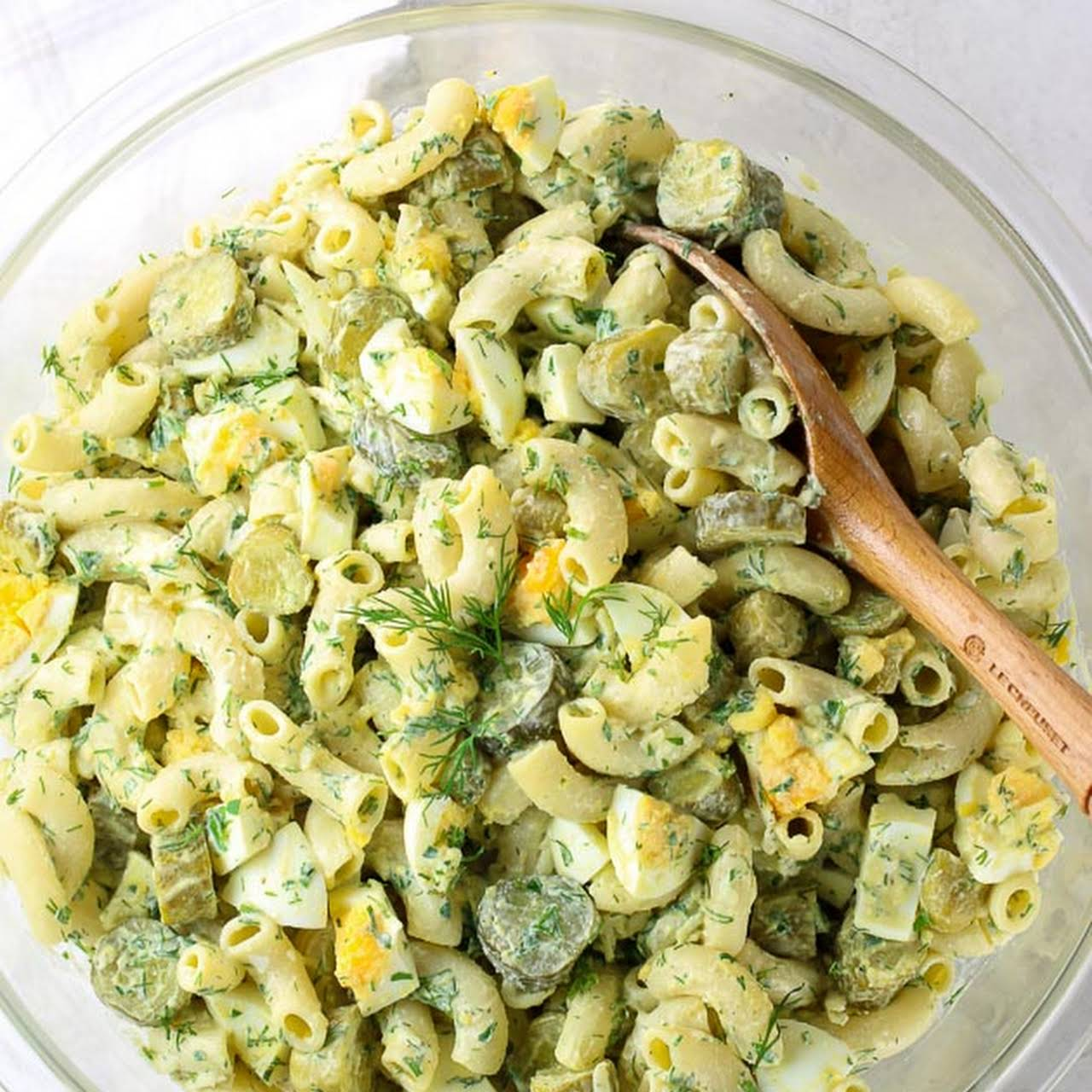 Macaroni Salad Recipe Pickles