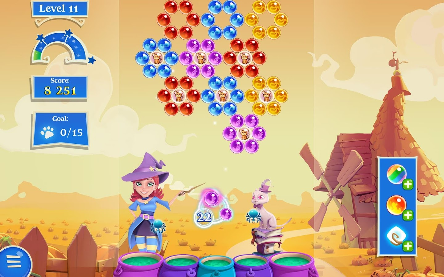Screenshots of Bubble Witch 2 Saga for iPhone