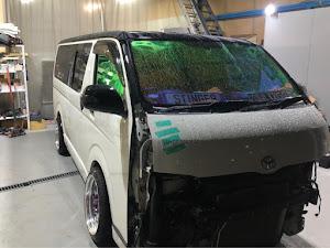 ハイエースバン TRH200V S-GL TRH200V H19年型のカスタム事例画像 Sting-K-Style DJけーちゃんだよさんの2020年07月17日22:20の投稿