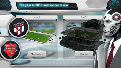 Futuball - Future Soccer Manager Game screenshots 1