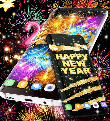 Happy new year 2020 live wallpaper 13.8 screenshots 4